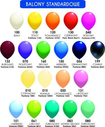 "Balon lateksowy 5"" (cali) Pastela"