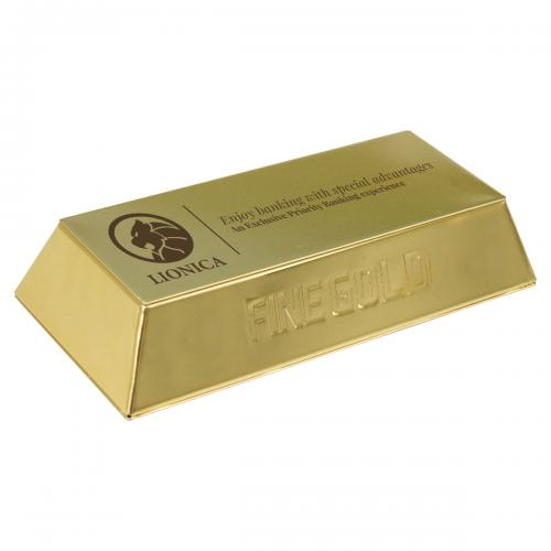Puszka złota sztaba Puszka złota sztaba
