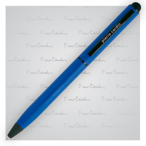 Długopis metalowy touch pen, soft touch CELEBRATION Pierre Cardin niebieski
