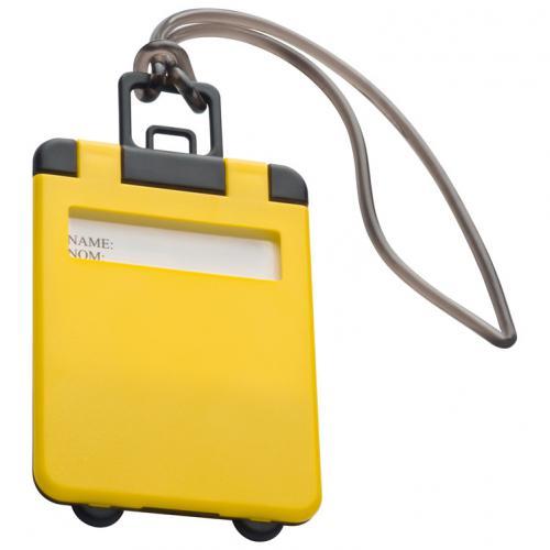 Identyfikator bagażu KEMER żółty