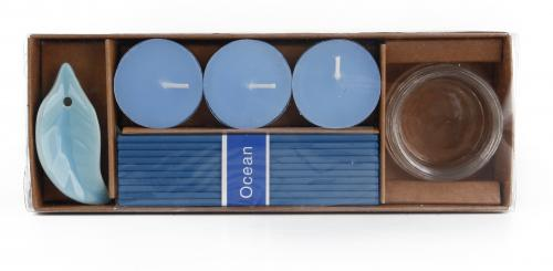 Zestaw zapachowy ADELAIDE Niebieski