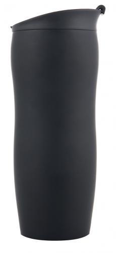 Kubek termiczny BERINGEN 400 ml Czarny