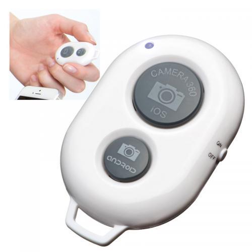 Samowyzwalacz do telefonów komórkowych na Bluetooth MADERA Biały