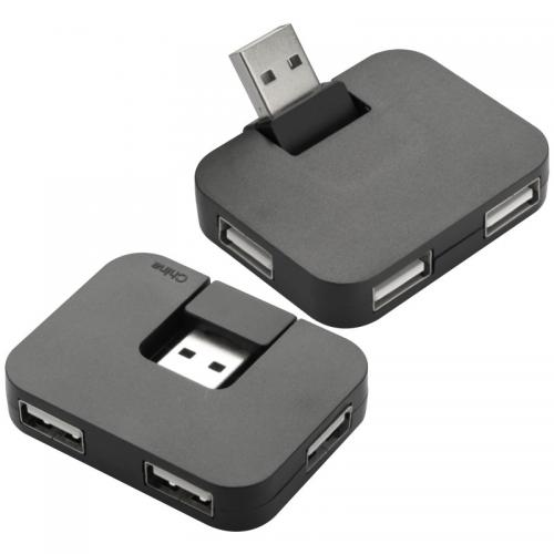 Rozgałęźnik USB SYDNEY Czarny