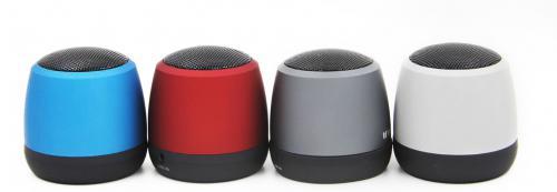 Aluminiowy głośnik Bluetooth Szary
