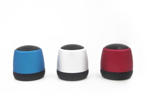 Aluminiowy głośnik Bluetooth Niebieski