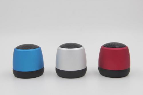 Aluminiowy głośnik Bluetooth Czerwony