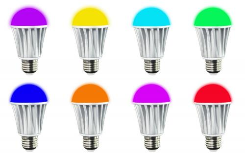 Smart LED - żarówka sterowana przez Bluetooth Biały