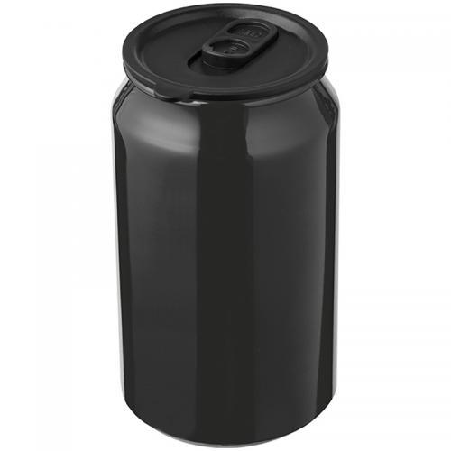 Kubek metalowy LOCARNO Czarny