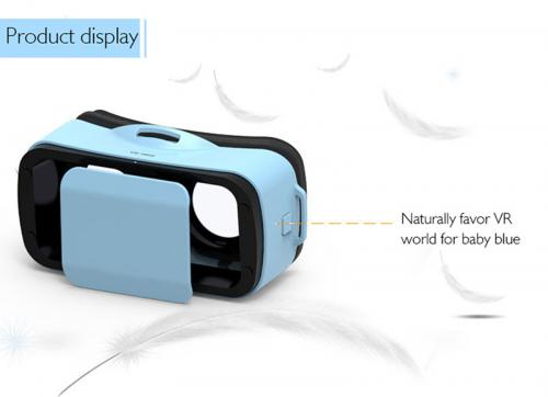 Okulary VR BOX MINI Niebieski