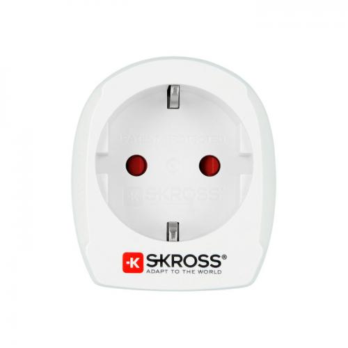Adapter EUROPA na USA bez USB SKROSS Biały
