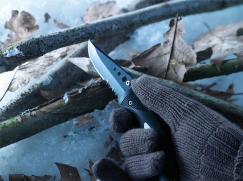 Nóż składany Schwarzwolf STYX Czarny