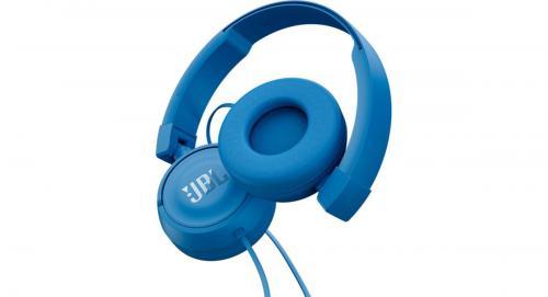 Słuchawki JBL T450 (słuchawki przewodowe) Niebieski