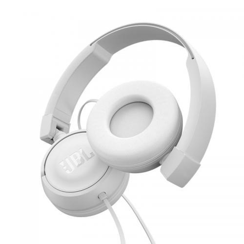 Słuchawki JBL T450 (słuchawki przewodowe) Biały