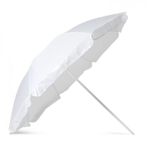 Parasol plażowy w etui biały