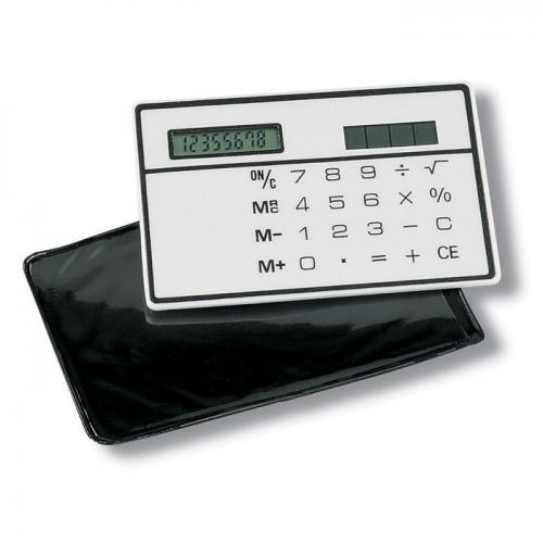 Kalkulator solarny biały