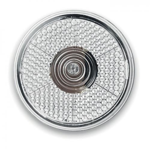 Okrągła migająca lampka LED biały