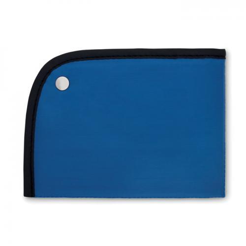 Składana mata do siedzenia niebieski