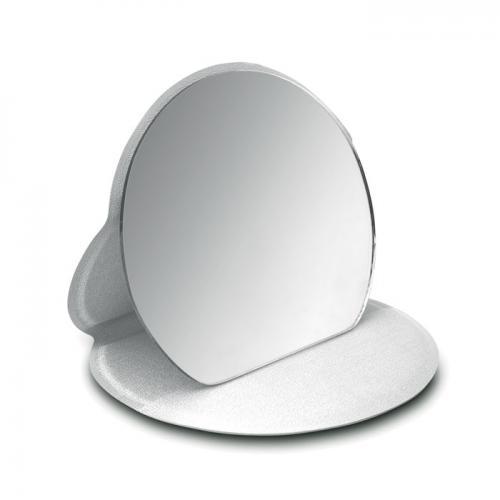 Lusterko do makijażu srebrny
