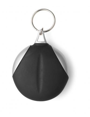 Brelok do kluczy ze ściereczką czarny
