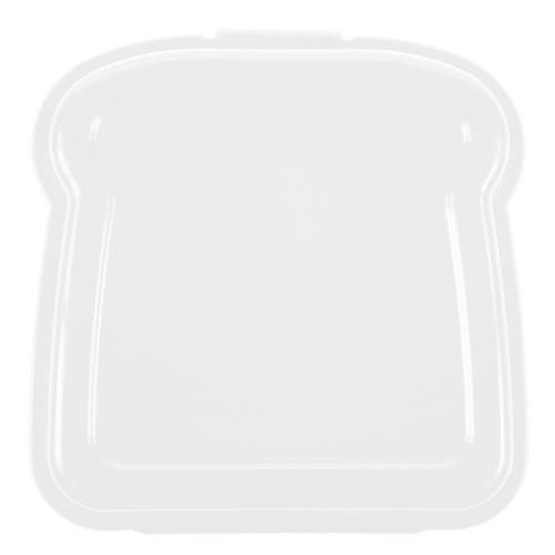 """Pudełko śniadaniowe """"kanapka"""" biały"""