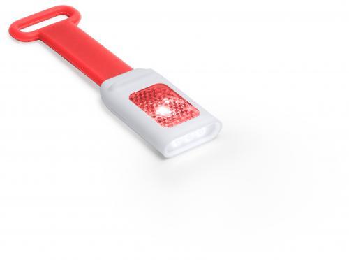 Lampka rowerowa czerwony