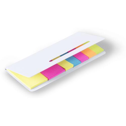 Karteczki samoprzylepne biały