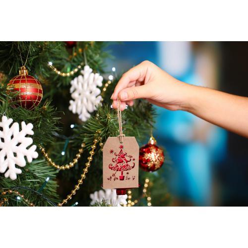 Zawieszka świąteczna czerwony