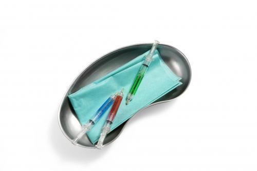 """Długopis """"strzykawka"""" jasnozielony"""