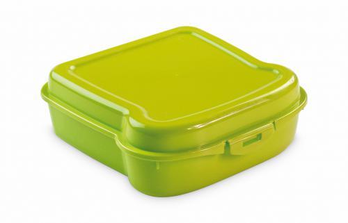 "Pudełko śniadaniowe ""kanapka"" jasnozielony"