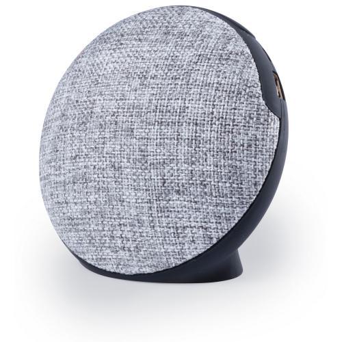 Głośnik bezprzewodowy 3W, radio, funkcja odbierania połączeń, czytnik kart micro SD czarny