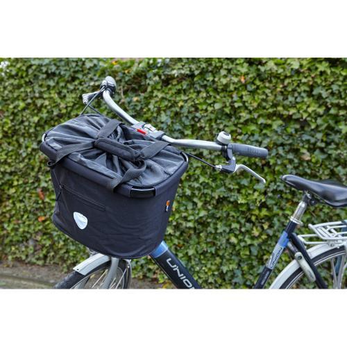 Koszyk rowerowy 20 L czarny
