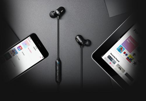 Bezprzewodowe słuchawki Silicon Power BP61 Czarny