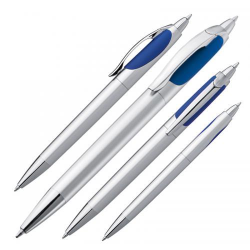 Długopis plastikowy z dwoma wkładami BIG BROTHER granatowy