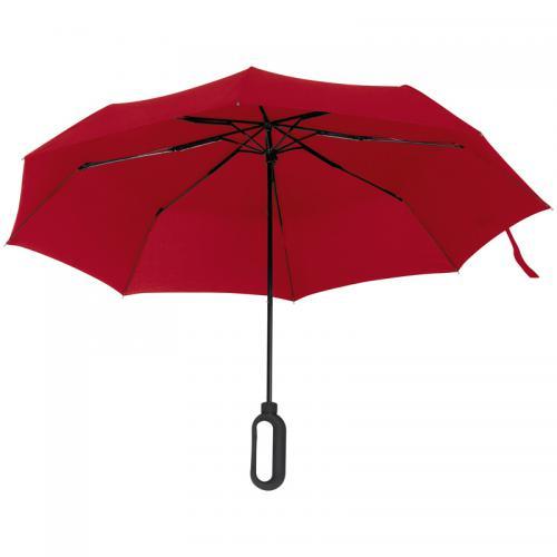 Parasolka manualna ERDING czerwony