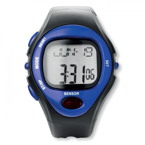 Sportowy zegarek elektroniczny granatowy