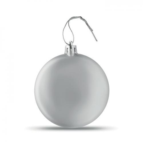 Bombka srebrny