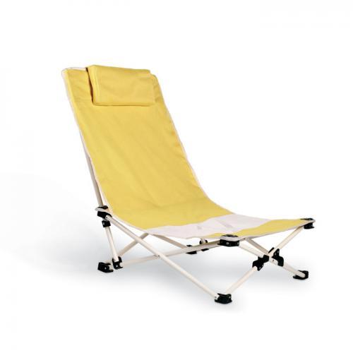 Capri. Krzesło plażowe żółty