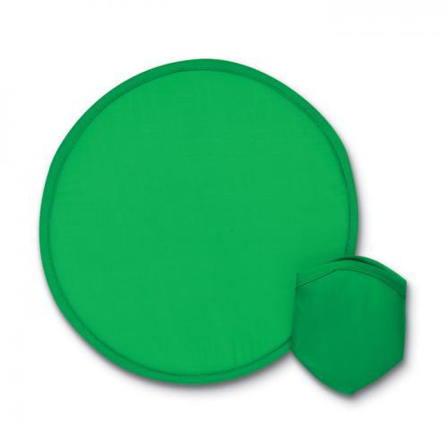 Nylonowe, składane frisbee zielony