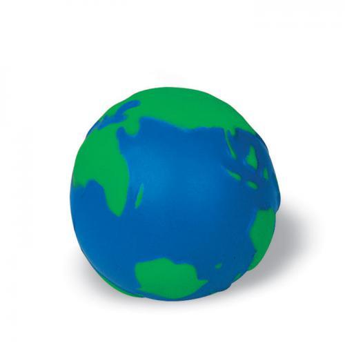 Zabawka antystres glob niebieski/zielony