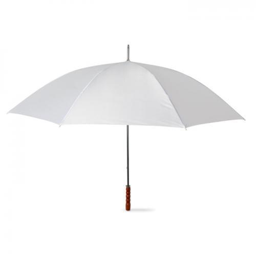 Parasol golfowy biały