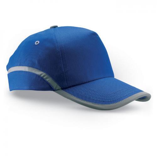 Czapka baseballowa z lamówką niebieski