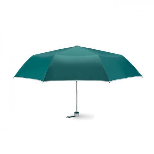Parasol składany na 3 zielony