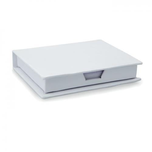 Pojemnik na karteczki biały