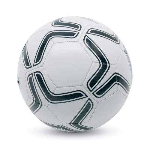 Piłka nożna, PVC biały/czarny