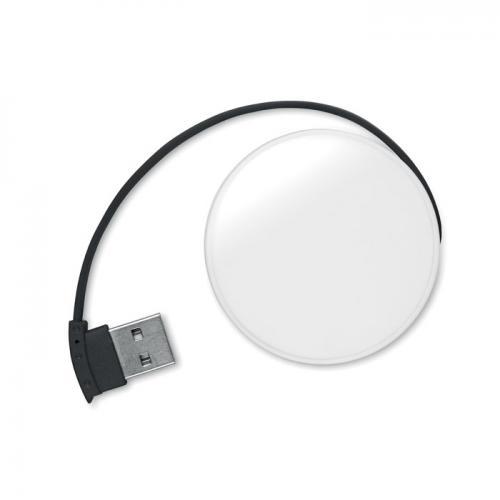 Rozdzielacz USB 4 porty czarny