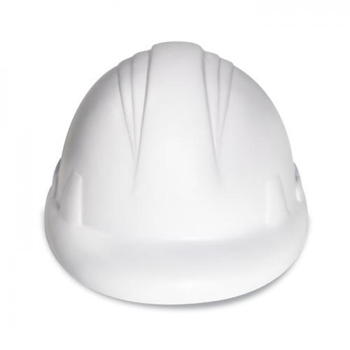 Antystres kask z PU biały