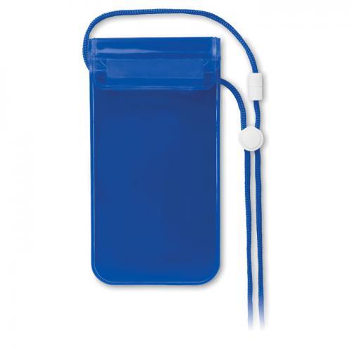 Wodoodporne etui na smartfon przezroczysty niebieski