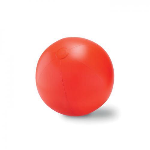 Duża piłka plażowa czerwony