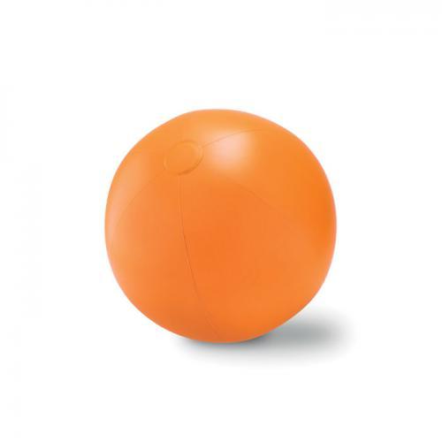 Duża piłka plażowa pomarańczowy